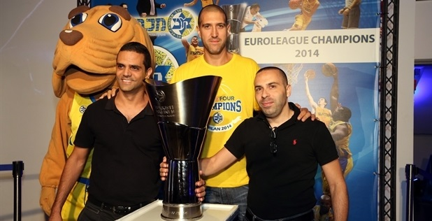Tal Burstein - Euroleague Trophy Champ Maccabi in Tel Aviv
