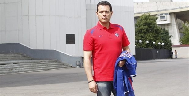 Dimitris Itoudis joins CSKA (Photo: CSKA Moscow)