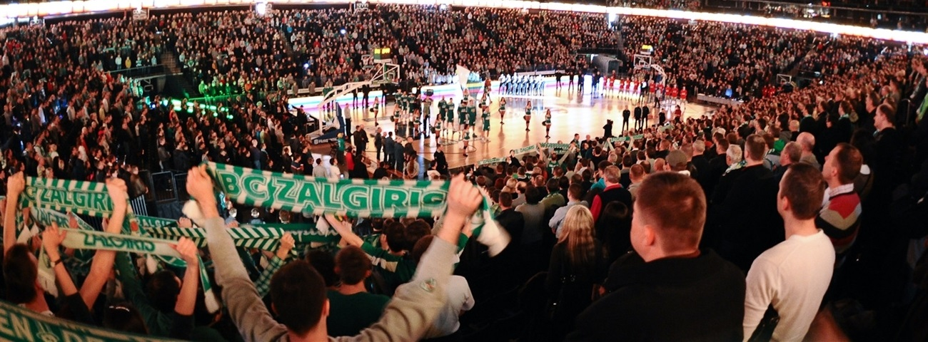 Zalgiris on mission to give new fans the truest basketball experience