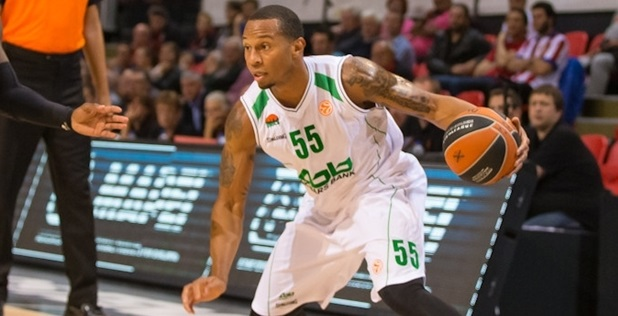 Curtis Jerrells - Unics Kazan - Qualifying Rounds 2014 (photo Telenet Ostend)