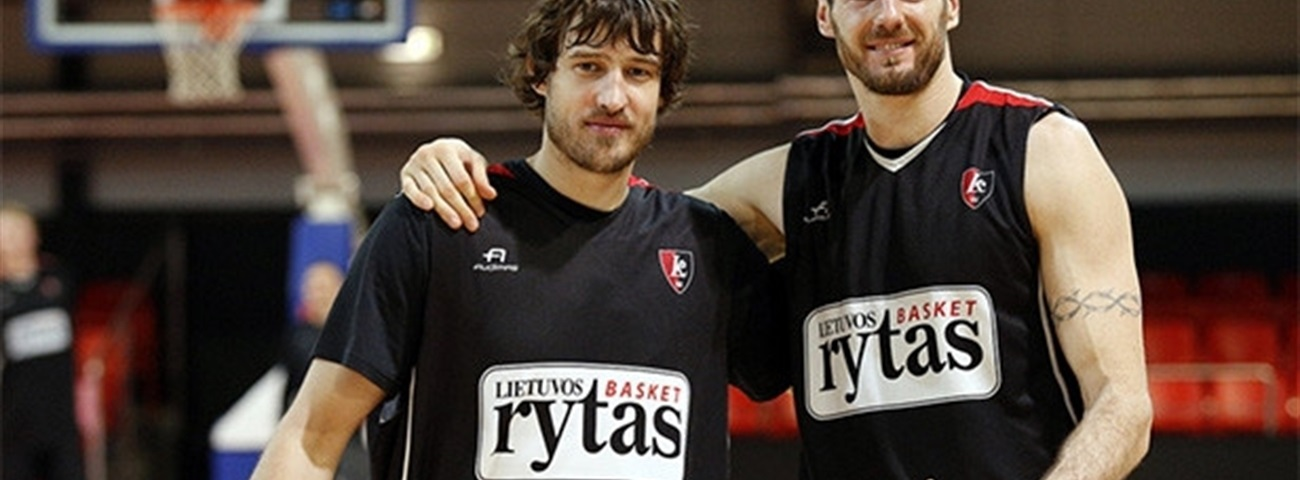 Lietuvos Rytas reaches into past for shooter Jasaitis
