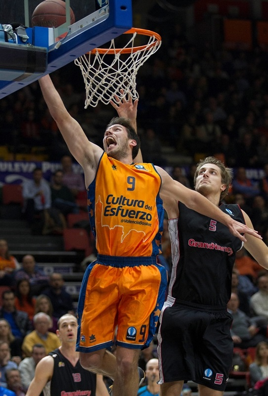 Sam Van Rossom - Valencia Basket - EC14 (photo Valencia Basket - Miguel Angel Polo)