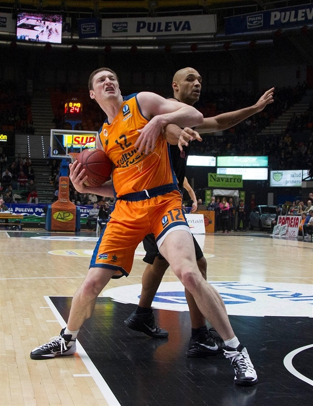 Serhiy Lishchuk - Valencia Basket - EC14 (photo Valencia Basket - Miguel Angel Polo)