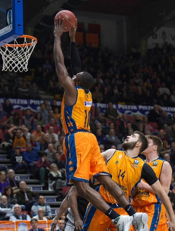 Romain Sato - Valencia Basket - EC14 (photo Valencia Basket - Miguel Angel Polo)