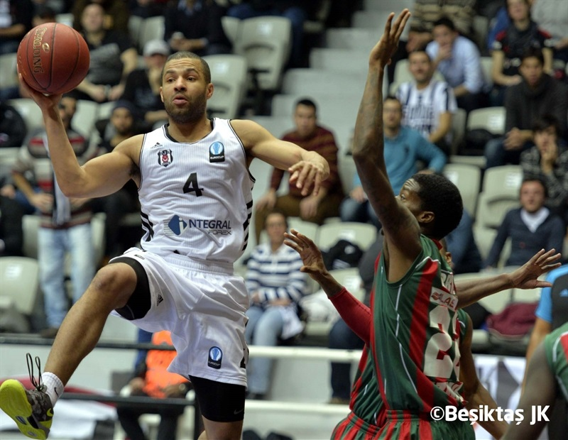 Chris Lofton - Besiktas Integral Forex Istanbul - EC14 (photo Besiktas JK)