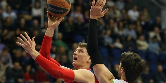 CSKA Moscow beats Laboral and stays undefeated