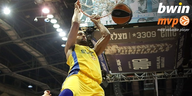 Top 16, Round 2 co-MVPs: Felipe Reyes, Madrid and Brian Randle, Maccabi