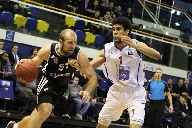Kenan Bajramovic - Besiktas Integral Forex Istanbul - EC14 (photo Paris Levallois)