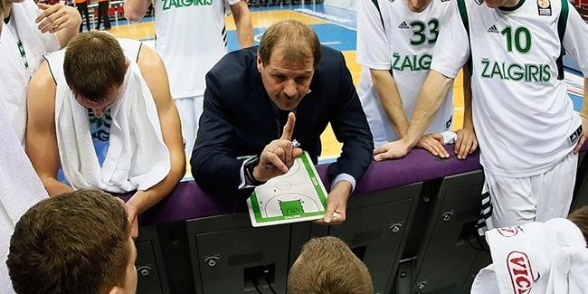 Zalgiris, Krapikas part ways: Saras steps in