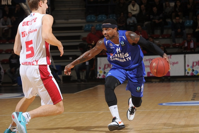 Dee Brown - CSU Asesoft Ploiesti - EC14 (photo SLUC Nancy - Christopher Courtois)