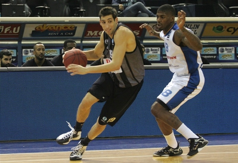 Christos Saloustros - PAOK Thessaloniki - EC14 (photo PAOK - Pavlos Makridis -megapress.gr)
