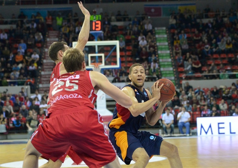 Brandon Triche - Virtus Rome - EC14 (photo Ramon Comet-CAI Zaragoza)