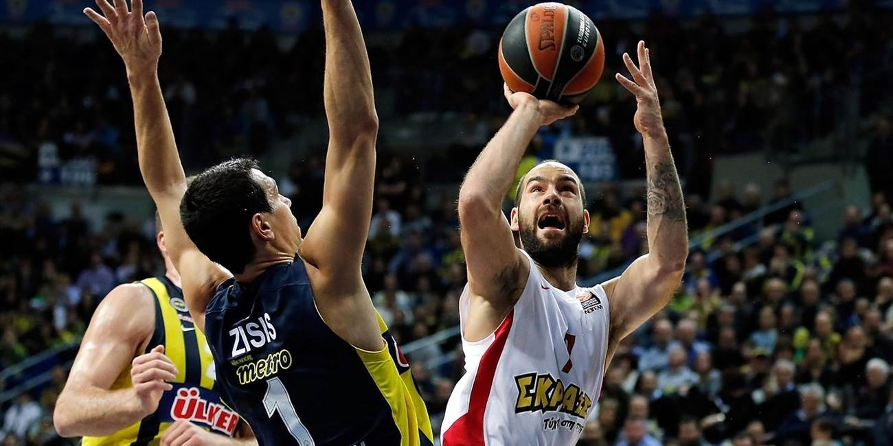 Top 16 Round 3 report: Spanoulis lifts Olympiacos past Fenerbahce Ulker