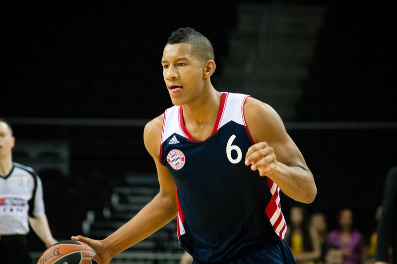 Karim Jallow - U18 Bayern Munich - Kaunas ANGT 2015 (photo Migle Kaselyte)