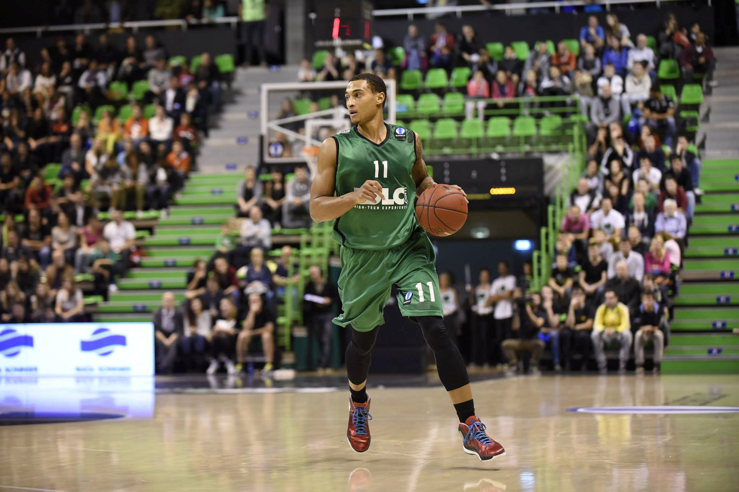 Edwin Jackson - ASVEL Villeurbanne - EC14 (photo ASVEL)