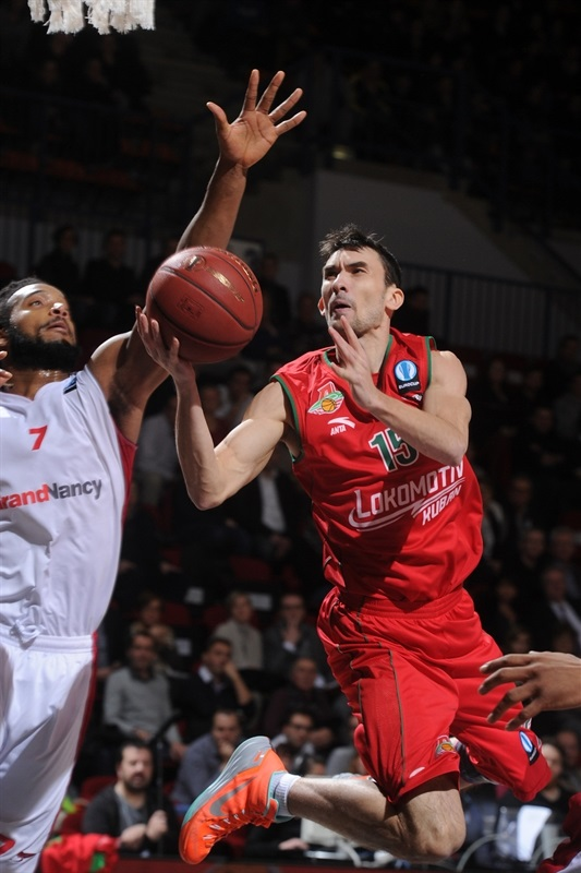 Maxim Kolyushkin - Lokomotiv Kuban - EC14 (photo SLUC Nancy - Christopher Courtois)