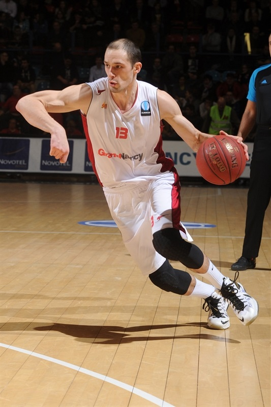 Sergii Gladyr - SLUC Nancy - EC14 (photo SLUC Nancy - Christopher Courtois)