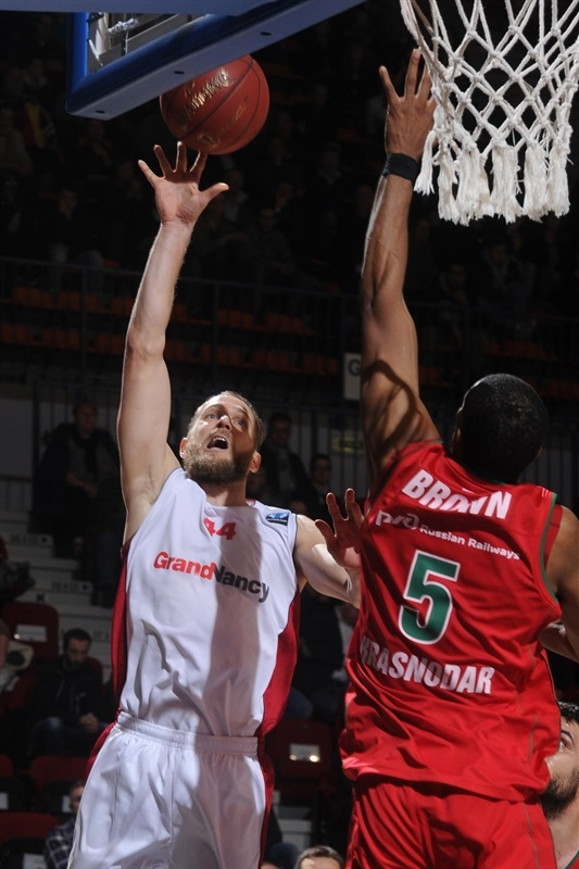 Vaughn Duggins - SLUC Nancy - EC14 (photo SLUC Nancy - Christopher Courtois)