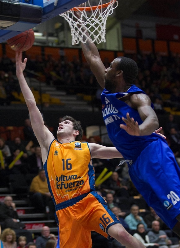 Guillem Vives - Valencia Basket - EC14 (photo Valencia Basket - Miguel Angel Polo)