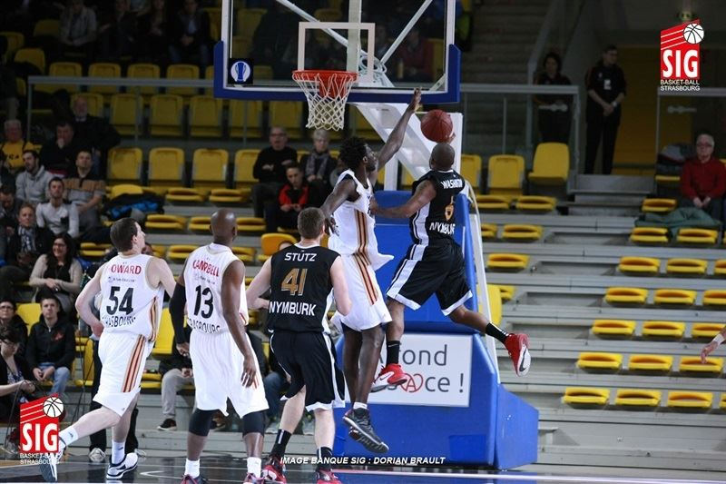 Darius Washington - CEZ Nymburk - EC14 (photo Strasbourg - Dorian Brault)