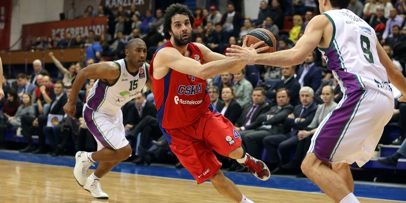 Top 16 Round 4 report: De Colo, Teodosic dominate as CSKA Moscow routs Unicaja