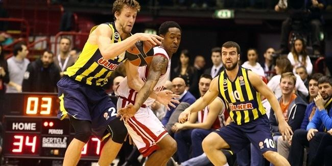 Top 16 Round 4 report: Fenerbahce downs Milan, extends its road win streak