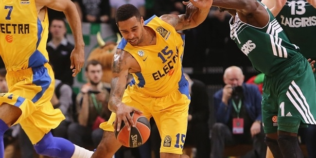 Top 16 Round 4 report: Maccabi Electra finishes strong for road win in Kaunas
