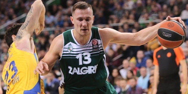 Zalgiris and captain Jankunas stay together 4 more years