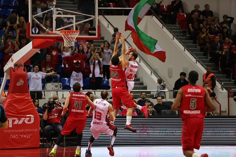Vaughn Duggins - SLUC Nancy - EC14 (photo PBC Lokomotiv Kuban)