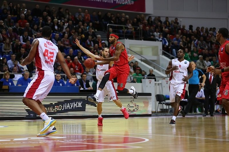Malcolm Delaney - Lokomotiv Kuban - EC14 (photo PBC Lokomotiv Kuban)