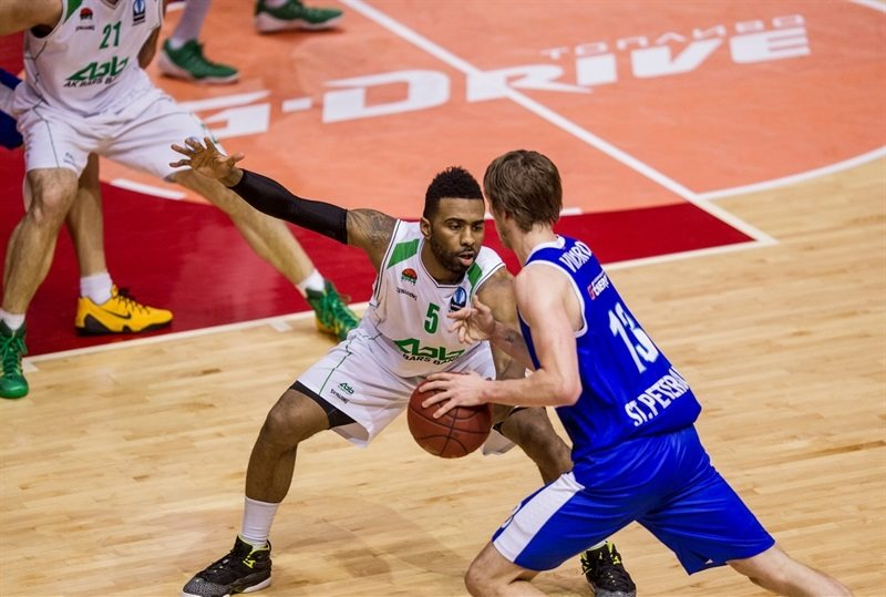 Keith Langford - Unics Kazan - EC14 (photo Zenit)