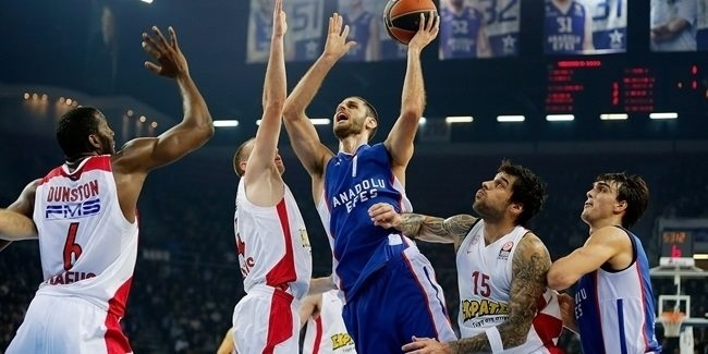 Top 16 Round 5 report: Efes hands Olympiacos its first Top 16 loss