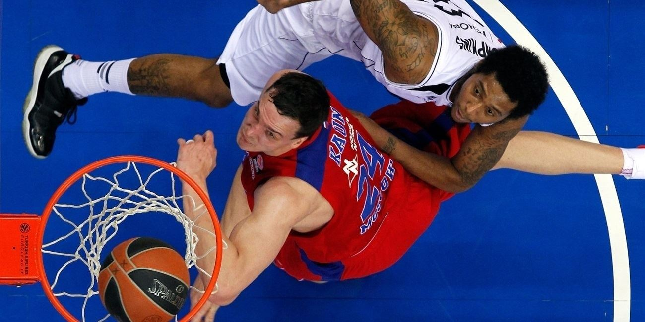 Top 16 Round 5 report: Teodosic, Kaun lift CSKA over Nizhny in OT