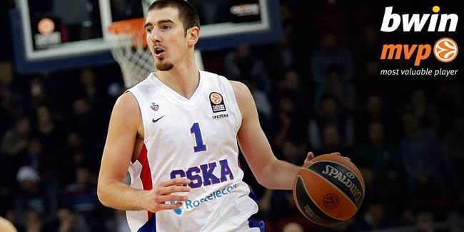 bwin MVP for January: Nando De Colo, CSKA Moscow