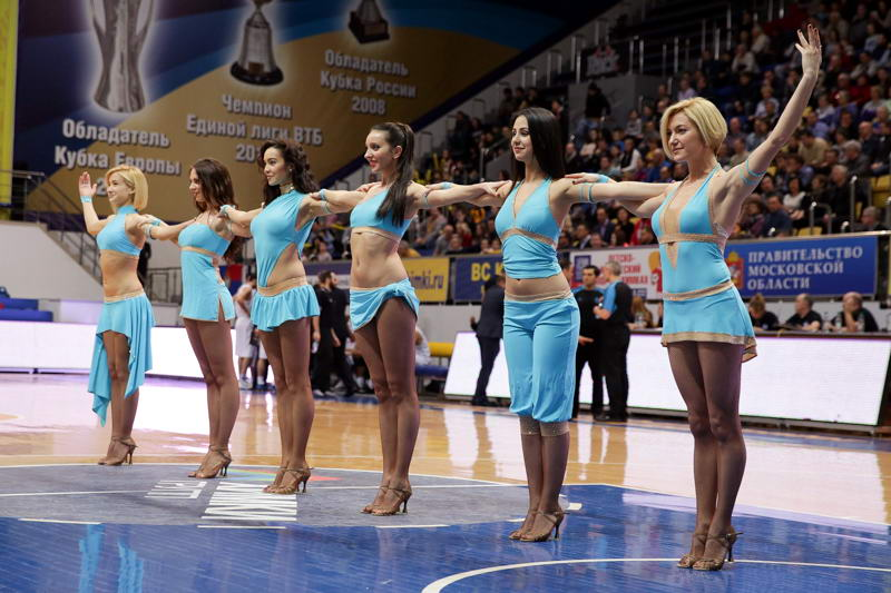 Cheerleaders - Khimki Moscow Region - EC14 (photo Khimki - Nikolay Kondakov)