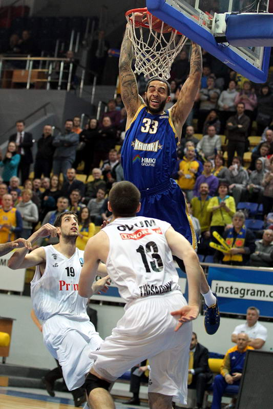Tyler Honeycutt - Khimki Moscow Region - EC14 (photo Khimki - Nikolay Kondakov)