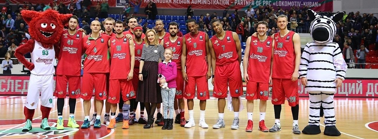 Lokomotiv Kuban sets Eurocup record for most consecutive wins