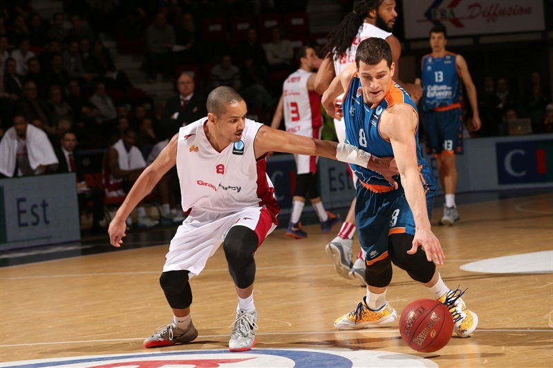 Nemanja Nedovic - Valencia Basket - EC14 (photo Gillaume Ramon - SLUC Nancy)