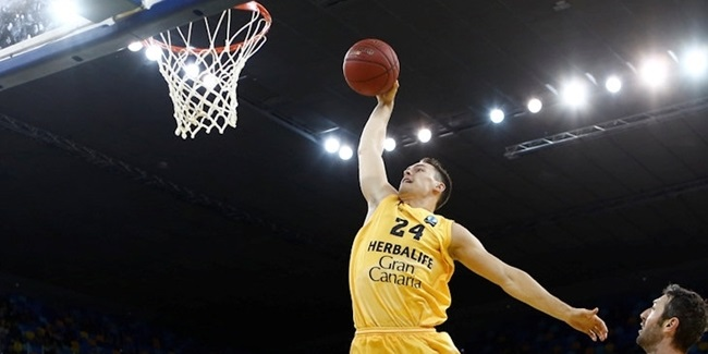 Gran Canaria and sharpshooter Kuric remain together