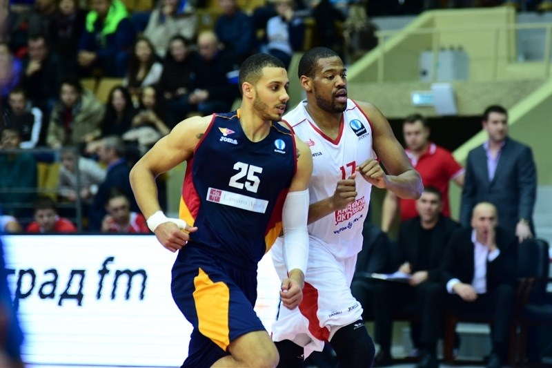 Jordan Morgan - Virtus Rome - EC14 (photo Krasny Oktyabr)
