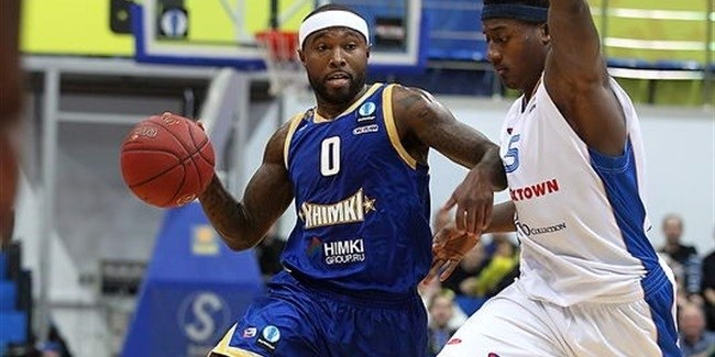 2014-15 Eurocup MVP: Tyrese Rice, Khimki Moscow Region