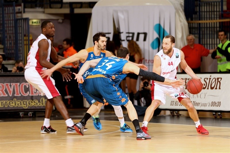 Vaughn Duggins - SLUC Nancy - EC14 (photo Gillaume Ramon - SLUC Nancy)