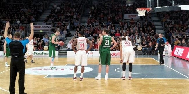 Last 32 Round 5 report: Brose Baskets 91-90 Union Olimpija