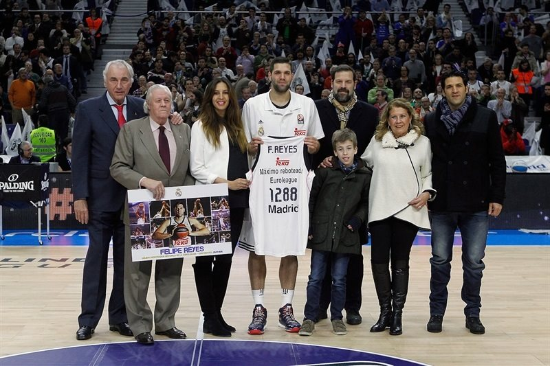 Felipe Reyes, Euroleague rebounding king  - Real Madrid - EB14