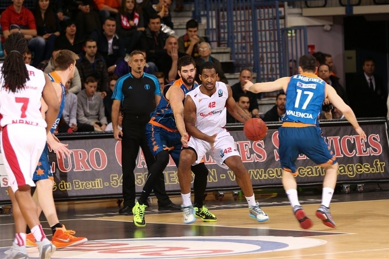 Ryan Reid - SLUC Nancy - EC14 (photo Gillaume Ramon - SLUC Nancy)