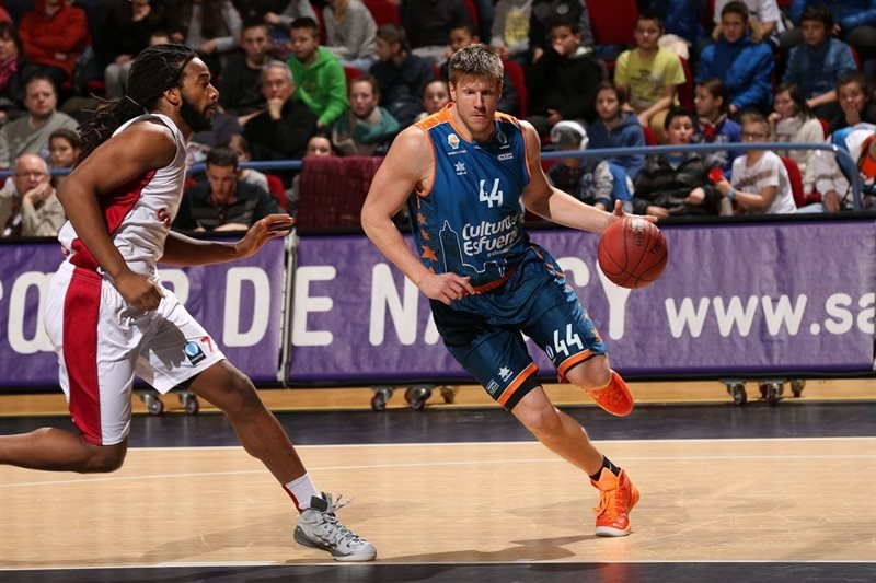 Luke Harangody - Valencia Basket - EC14 (photo Gillaume Ramon - SLUC Nancy)