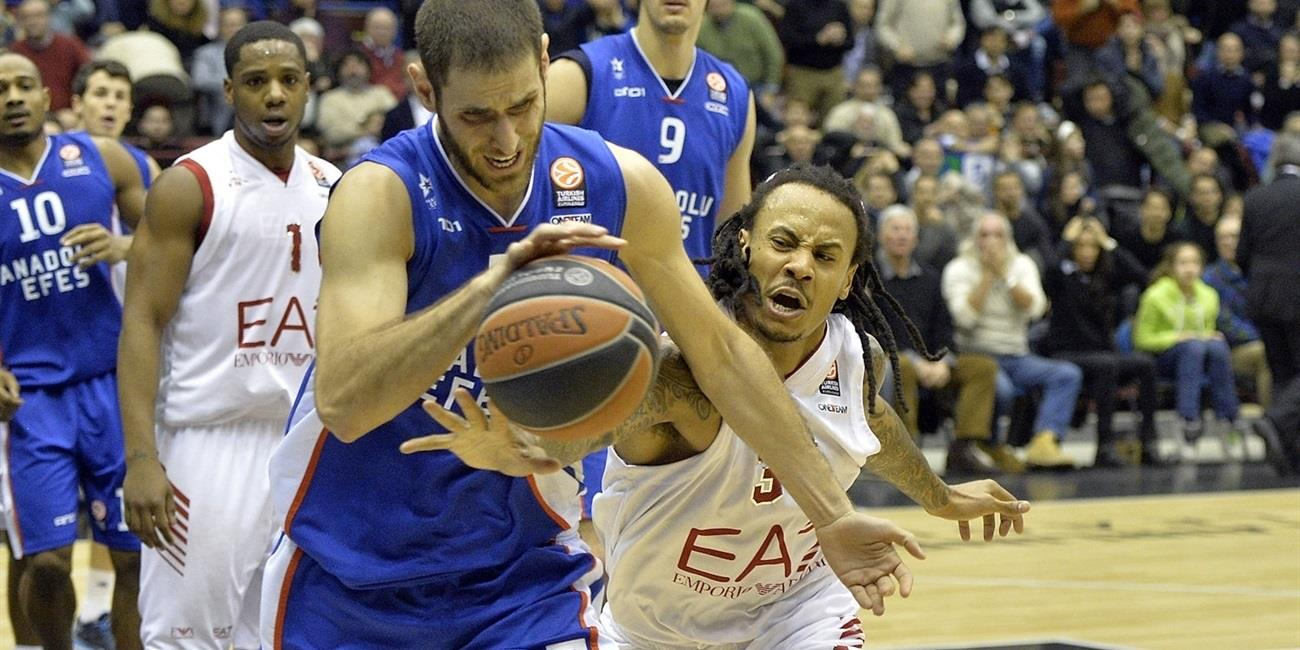 Top 16 Round 6 report: Anadolu Efes edges Milan for key road win