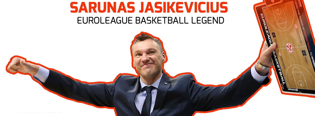 Sarunas Jasikevicius to be honored as Euroleague Basketball Legend