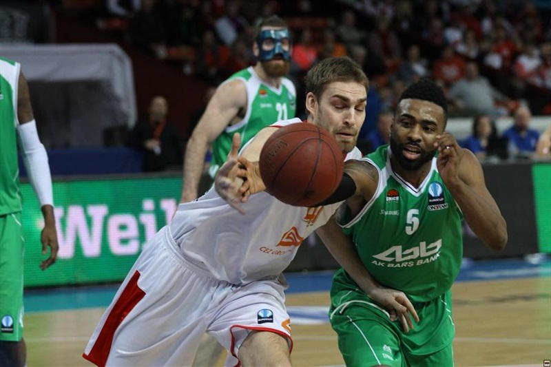 Keith Langford - Unics Kazan - EC14 (photo CEZ Nymburk)