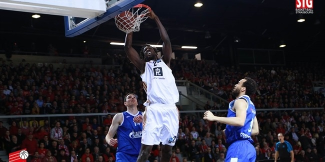 Strasbourg re-signs big men Fofana and Duport